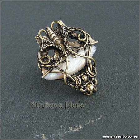 Кольцо Струкова Елена